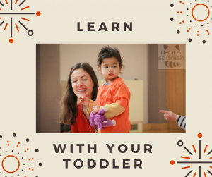 Spanish for toddlers and pre school children